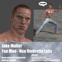 Jake Muller Fan Mod Neo Umbrella Labs by Adngel