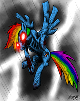 Rainbow dash zombie thing by Jesse Creech no1-d by Scott19065