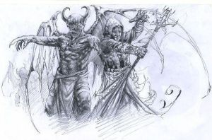 DEMONS and WIZARDS by punisherdeath666