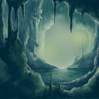 Cave Temple by Aetharius
