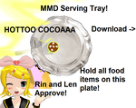 MMD Serving Tray DL by Snowwisheslol