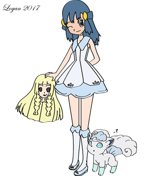 Dawn to Lillie by TheSuitKeeper89