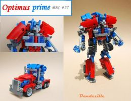 Optimus Prime by 4450
