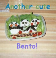 Another Cute Bento by swirlheart