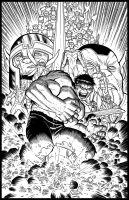 John Romita Jr. Hulk by GothPunkDaddy