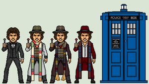 The 4th Doctor by Stuart1001