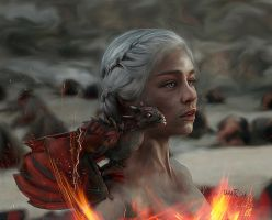 Mother of Dragons by DaaRia