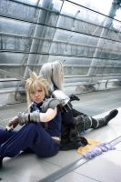 Cloud cosplay - incident light by Maryru