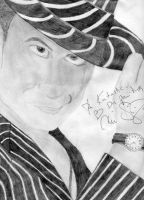 Signed Chico Drawing by McFit