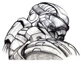 Jake Dunn from Crysis Sketch by RchdEtc