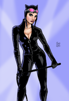 Catwoman by spriteman1000