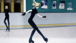 Yurio Skating (request) by KoyMija