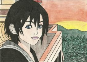 Xion on the T.T tower by Draculsondevil
