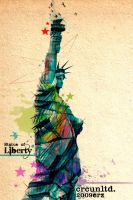 statue of liberty CRC by crcunltd