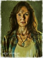 The Walking Dead: Lori: BuzSim Paint Re-Edit by nerdboy69