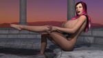 Bathing In The Temple 03 by Digital-SE3D
