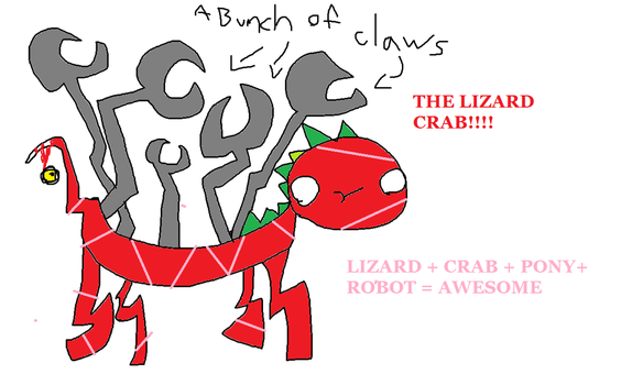 The Lizard Crab by MEMpro