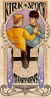 Kirk/Spock - Transcendence by anifanatical