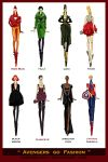 Avengers go Fashion by Sashiiko-Anti