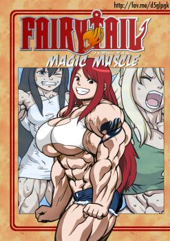 Magic Muscle Cover by elee0228