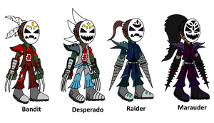 -Re[RE]Vamped- Masked Assassins by TheSpiderManager