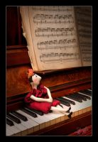 Piano Doll by etsap