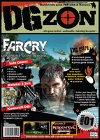 DGZON Magazine Cover by teMan