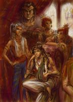Pandava Brothers by Nigami