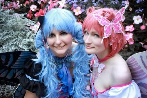 xxxholic - Baby Blue, Pretty Pink by aco-rea