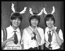 Girls With Antlers, Japan by DaveR99