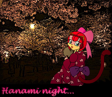 Polly Ester Hanami night by Petunia43