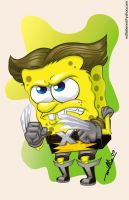 wolverine square pants by willieberen