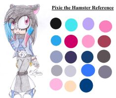Pixie the Hamster Reference by ExorcistLilium