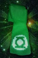 Green Lantern Corp. Scarf by MadMouseMedia