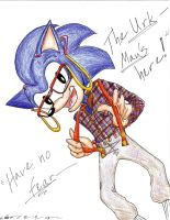 Sonic as Steve Urkel by IZZY-CHAN13