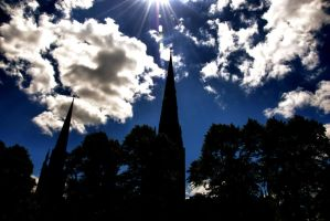 Spires of Coventry by daliscar
