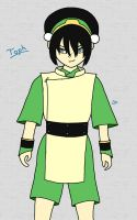I Want To Rock: Toph -Colored- by DarkPhazon395