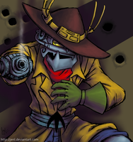 Bravestarr - Thunderstick - Robotic Outlaw by JenL