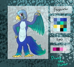 FNaF OC Adoptable - Prancy The Parrot (OPEN) by MochiFries