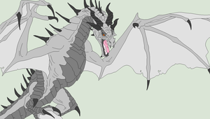 Traced Base - Skyrim Dragon 3 by Shadow-Bases