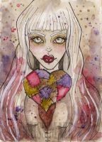 Patchwork Heart by Miss-Maze