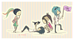 1 2 3 4 Meevers by Lost-inFantasy