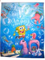 SpongeBob 10th Anniversary by YazzoB