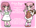 Mew Academy: Erica Character Card by BunnyGirl103