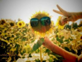 Cool sunflower by cuteGaby