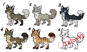 Emergency Cat Adopt Set! :Open: by VixenAdopts