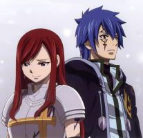 Erza and Jellal: HOLY SHINE by BlissfullyDisturbed