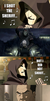 Legend of Korra - I shot the sheriff... by yourparodies
