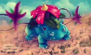 Venusaur by DanteCyberMan