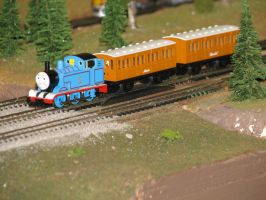 Tomix N scale Thomas by TaionaFan369